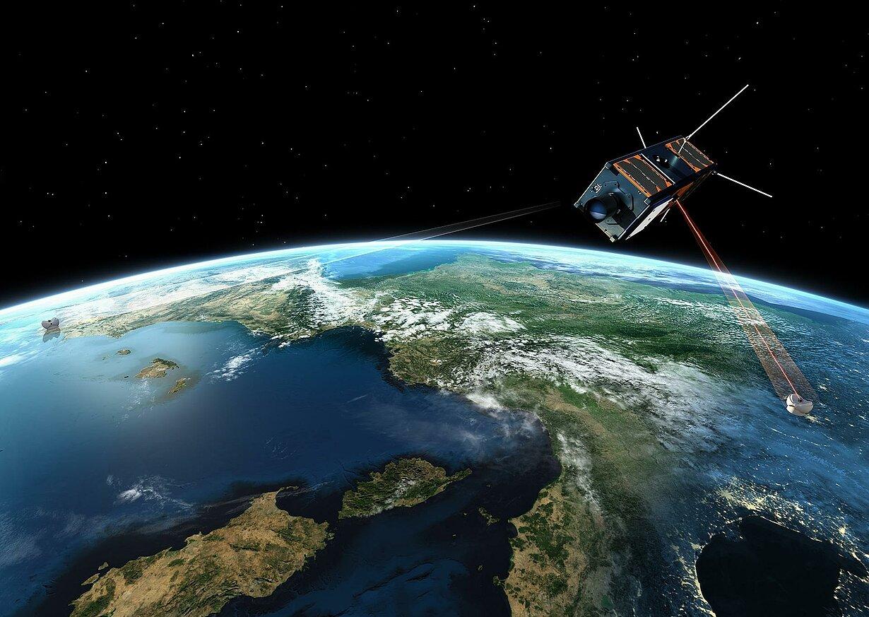 Satellitenbatterie
